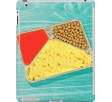 TV dinner to go... in green! iPad Case/Skin