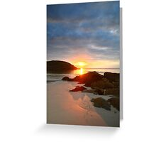 Achmelvich Beach, Scotland  Greeting Card
