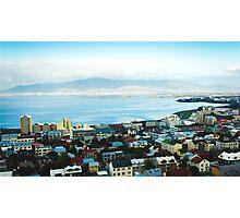 Reykjavik View  Photographic Print