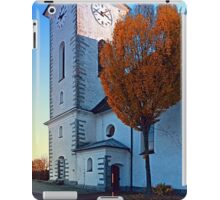 The village church of Klaffer II | architectural photography iPad Case/Skin