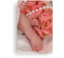 Precious Feet Canvas Print
