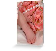 Precious Feet Greeting Card