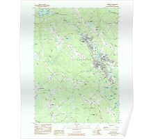 Maine USGS Historical Map Sanford 102942 1983 24000 Poster