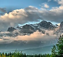Rocky Mountains - Canmore, Alberta by Vickie Emms