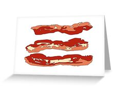 Bacons Greeting Card