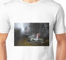 I'll use the light that comes to me from your halo Unisex T-Shirt