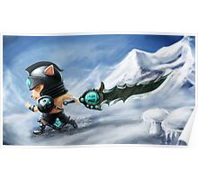 League of Legends : Teemo Tryndamere !! Poster