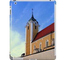 The village church of Neufelden III | architectural photography iPad Case/Skin
