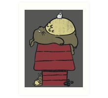 My neighbor Peanut Art Print