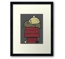 My neighbor Peanut Framed Print