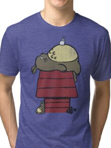 My neighbor Peanut Tri-blend T-Shirt