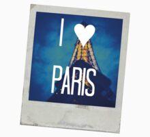 I ♥ Paris One Piece - Short Sleeve