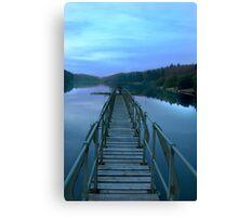 Dartmoor reservoir  Canvas Print