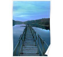 Dartmoor reservoir  Poster