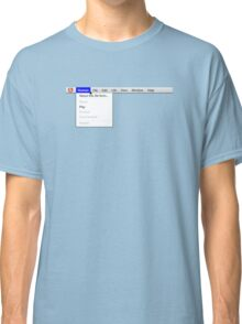 Human: Game of Life v1.2 {About this life form...} Classic T-Shirt
