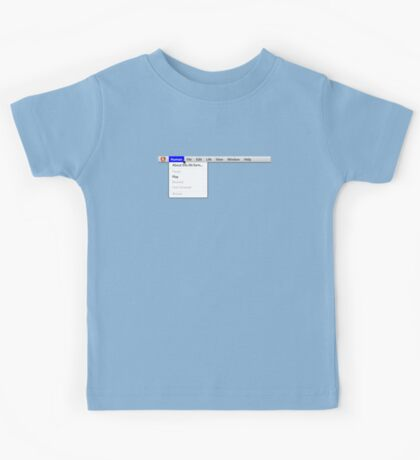 Human: Game of Life v1.2 {About this life form...} Kids Tee