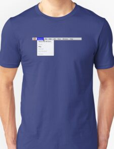 Human: Game of Life v1.2 {About this life form...} Unisex T-Shirt