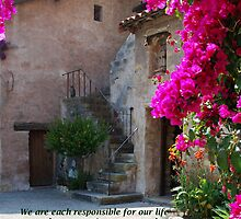 """We are each responsible..."" by Marjorie Wallace"