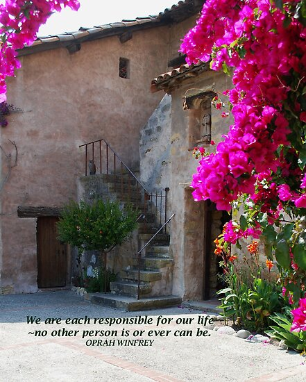 """""""We are each responsible..."""" by Marjorie Wallace"""