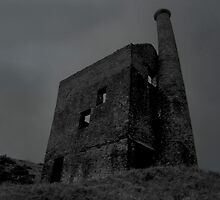 old wheal betsy on dartmoor by David Clewer