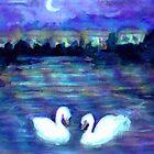 Swan Lake by Caroline Munday