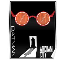 Batman: Arkham City Minimal Poster