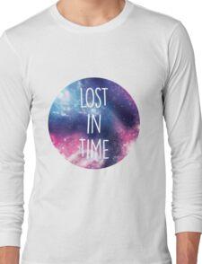 Purple Galaxy Long Sleeve T-Shirt