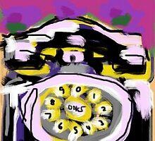 The Black Telephone by Jeffoaks
