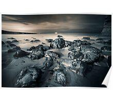 Marsden Bay Rocks Poster