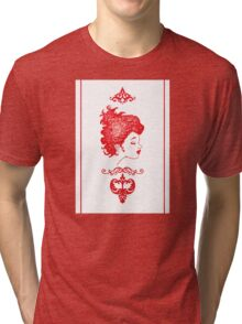 Fille Rouge Tri-blend T-Shirt