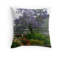 Australian Jacaranda Throw Pillow