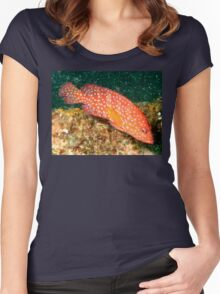 Fish Tropical Women's Fitted Scoop T-Shirt
