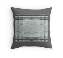 Silk Ice  Throw Pillow
