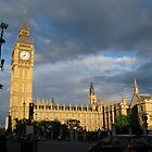 Splendor on  Palace of Westminster by Jeanluc