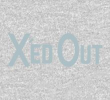 X'ed Out One Piece - Long Sleeve