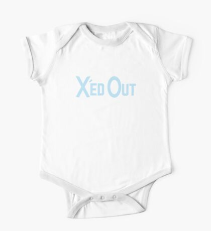X'ed Out One Piece - Short Sleeve