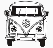 Volkswagen VW Bus Van by Cinemadelic