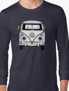 Volkswagen VW Bus Van Long Sleeve T-Shirt