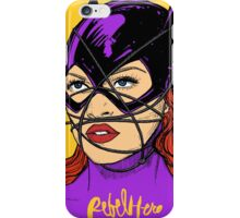 Rebel Bat iPhone Case/Skin