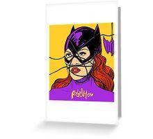 Rebel Bat Greeting Card