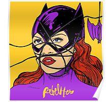 Rebel Bat Poster