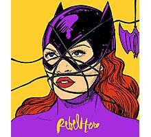Rebel Bat Photographic Print