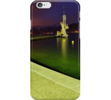 Night comes on Annecy lake iPhone Case/Skin