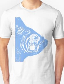 Big Blue Fish Head T-Shirt