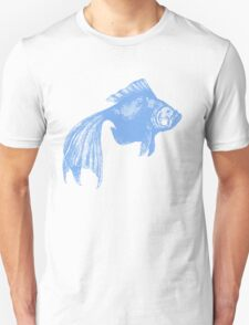 Blue Goldfish T-Shirt