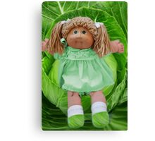 ❀◕‿◕❀ CABBAGE PATCH DOLL CABBAGE NEVER LOOKED SO CUTE ❀◕‿◕❀ Canvas Print