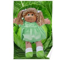 ❀◕‿◕❀ CABBAGE PATCH DOLL CABBAGE NEVER LOOKED SO CUTE ❀◕‿◕❀ Poster