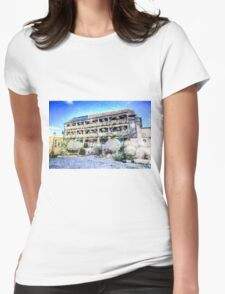 The Dickens Inn Pub London Art Womens Fitted T-Shirt