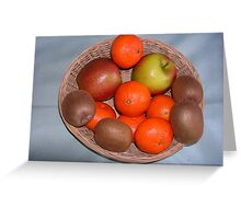 A Basket of Goodness Greeting Card