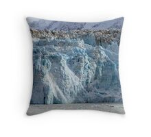 Hubbard Glacier - Alaska Throw Pillow
